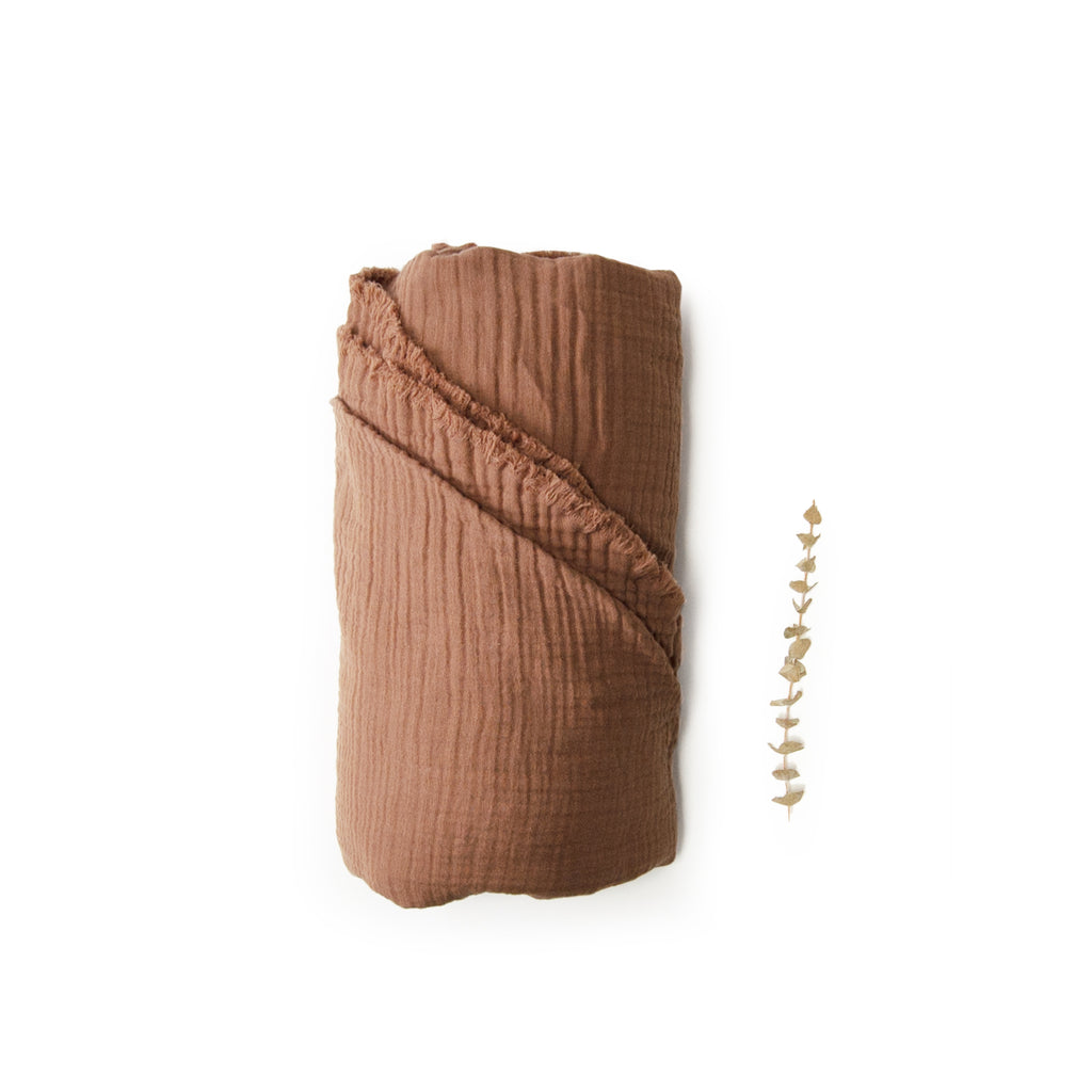Kids Gauze Towel & Beach Blanket - hazelnut