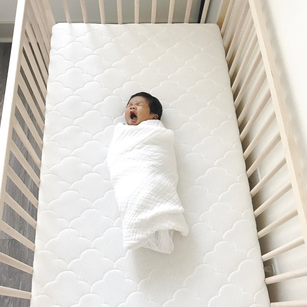 Organic Cotton Quilted Muslin Blanket<br> by Dove and Dovelet