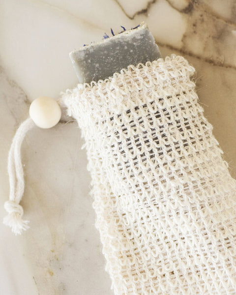 Agave Woven Soap Bag - Exfoliating Scrubber<br>No Tox Life