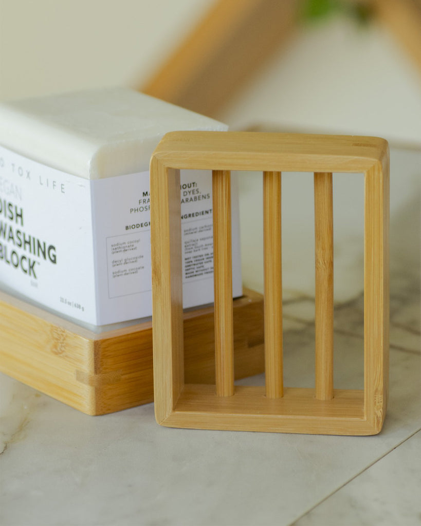 Moso Bamboo Soap Shelf<br>No Tox Life