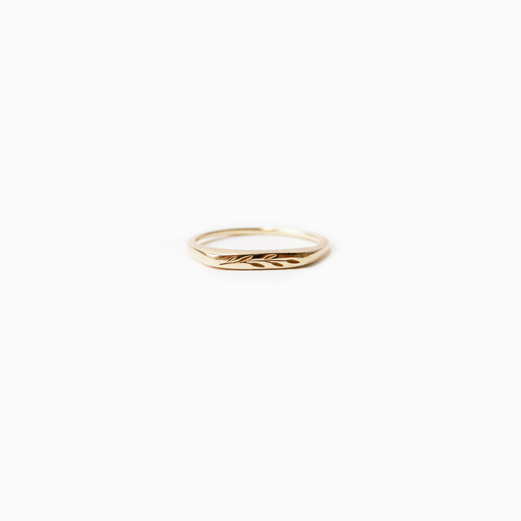 Olive branch Ring <br>by Claus