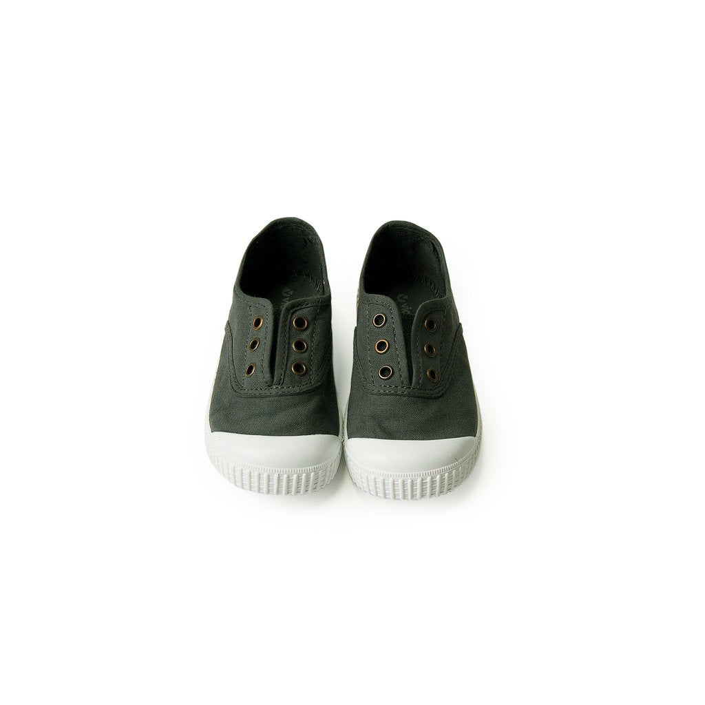 Canvas Sneakers - plomo <br> Victoria
