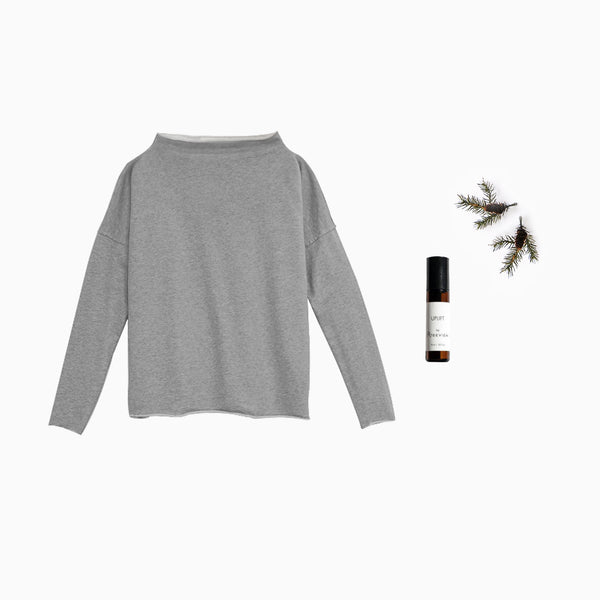Gift Set - Pullover Sweatshirt and Aromatherapy Oil