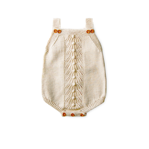 Heirloom Handmade Organic Romper