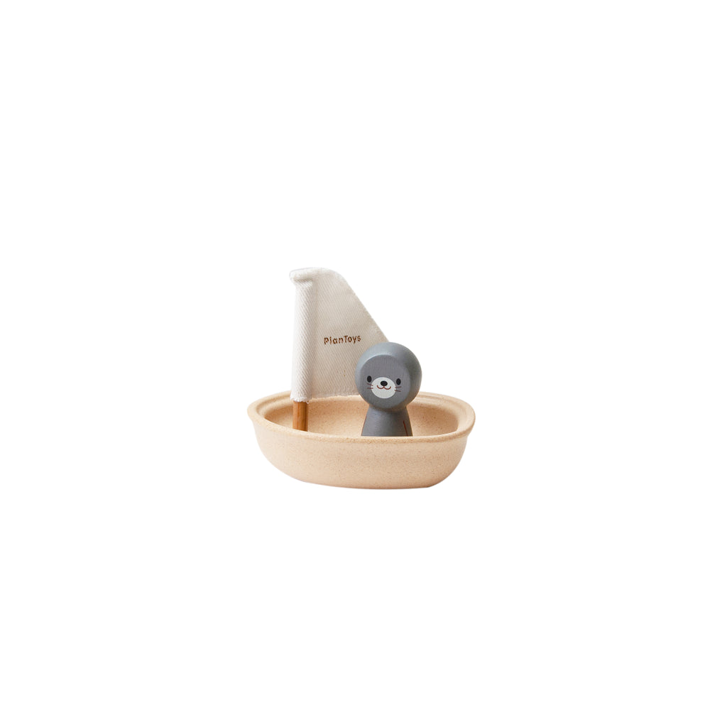 Sailing Boat-Seal <br> Plan Toys
