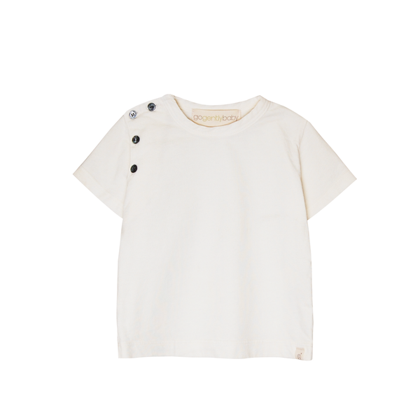 Shoulder Button Tee