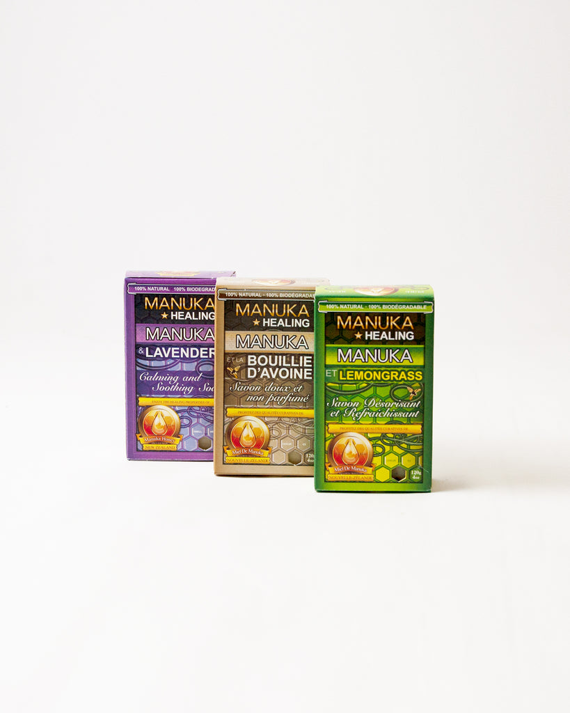 Manuka Honey Soap 3 set<br> Buncha Farmers