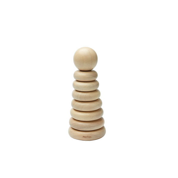 Stacking Ring-Natural<br> PlanToys