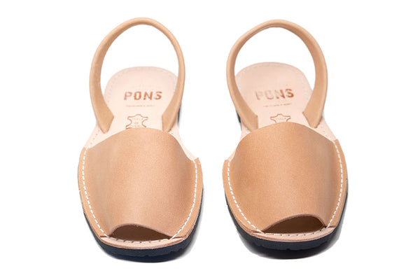 Avarcas <br> Pons Classic Style - Tan