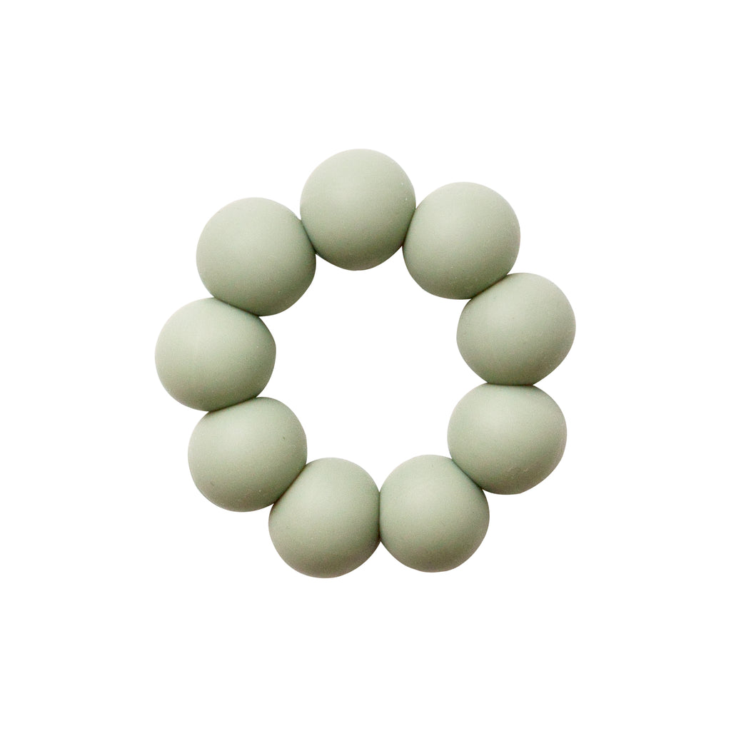 Freezable silicone teething toy- desert sage <br> Dove and Dovelet