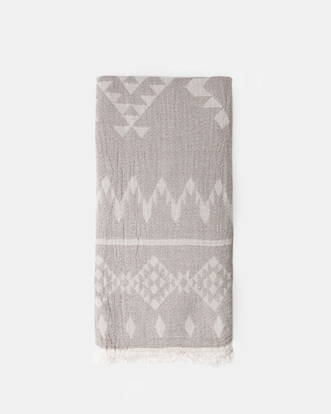 Organic Turkish Towel - Winter Tan