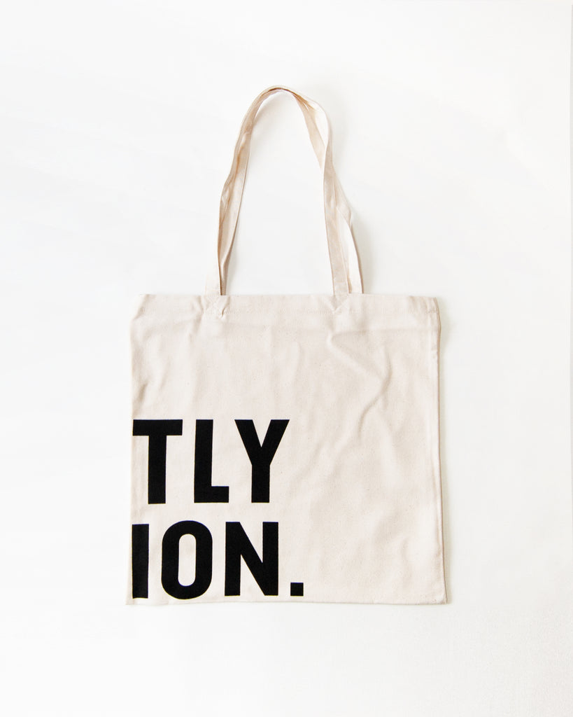 Go Gently Nation -Organic Canvas Tote Bag