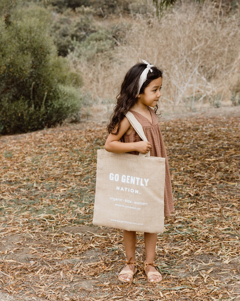 Go Gently Nation - Jute Bag