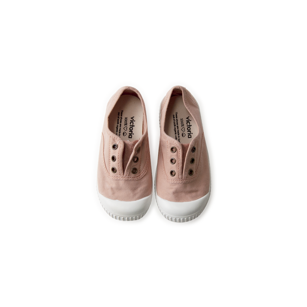 Canvas Sneakers - ballet pink  <br> Victoria