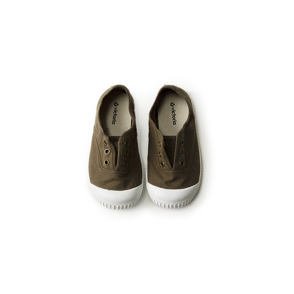Canvas Sneakers - military <br> Victoria