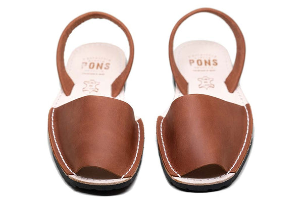 Avarcas <br> Pons Classic Style - Brown