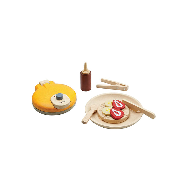 Waffle Set <br> Plan Toys