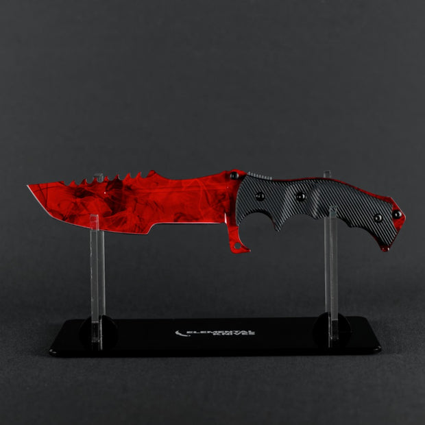 Ruby Huntsman Knife