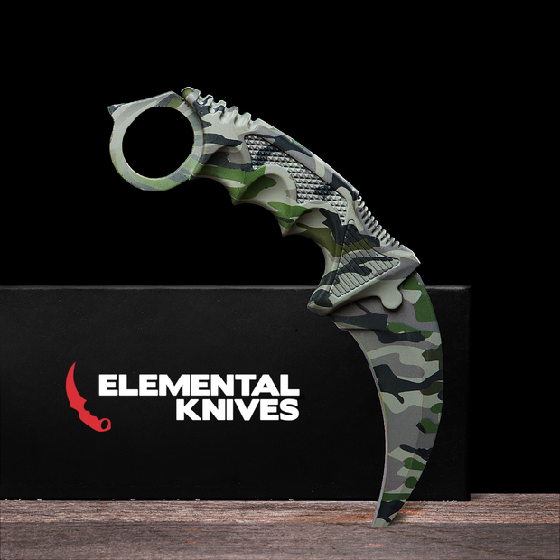 Boreal Forest Karambit 1.0