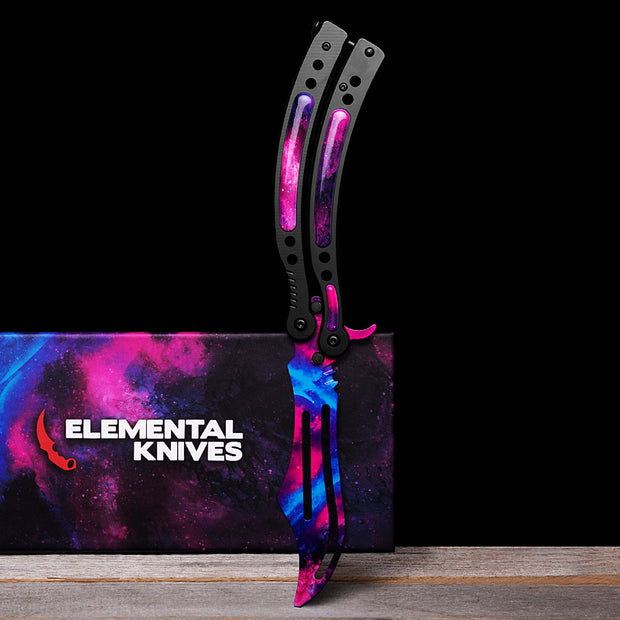 Galaxy Training Butterfly Knife