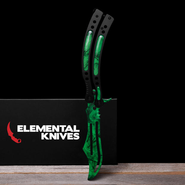 Gamma Doppler Phase 2 Training Butterfly Knife