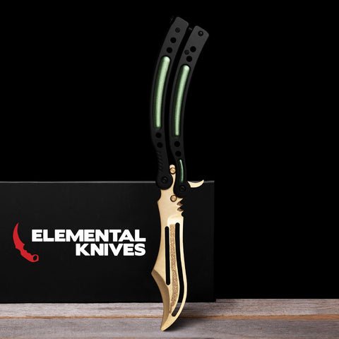 Lore Training Butterfly Knife