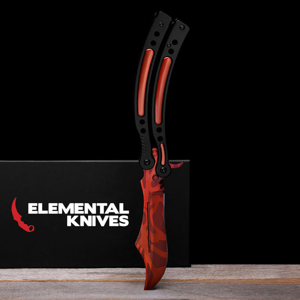 Slaughter Folding Butterfly Knife