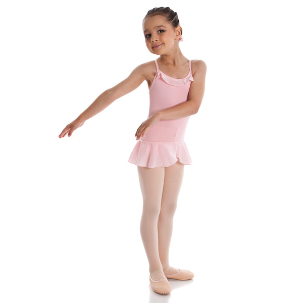 Energetiks Child Crystal Frill Leotard with Skirt (CL57)