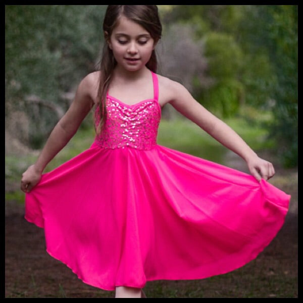 Studio 7 Girls Sequin Lyrical Dress