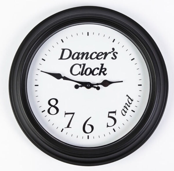 Dancer's Clock Black- Gifts