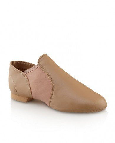 Capezio Adult E- Series Jazz Slip On- Caramel (EJ2)