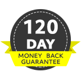 120 Day money back guarantee
