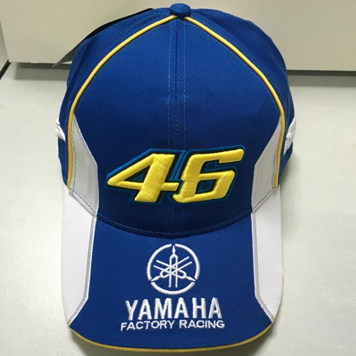 40f52e9deae40 VR46 Baseball Cap MOTO GP YMH Motorcycle 3D Embroidered Racing 46 Hat Men  Women Snapback Cap