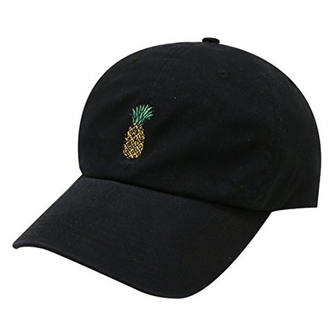 Pineapple Embroidered Dad Hat Baseball Cap For Men and Women - Laccessories 8e7b5dc28392