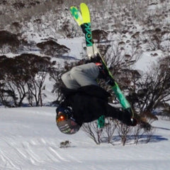 Blackbird Bespoke Skis Team Rider Fletcher Thew Perisher NSW Australia