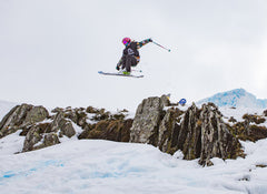 Arkie Elliss Riding For Blackbird Bespoke Ski Co