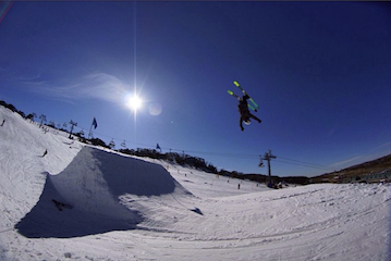 Mitchell Breitfuss Perisher Valley Team Blackbird Bespoke Ski Co Skier