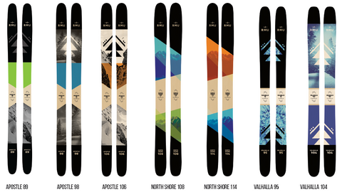 Rocky Mountain Underground Skis in Australia