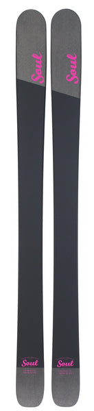 Soul Skis Olive Womens ski - for the serious womens freerider who wants to own the whole mountain
