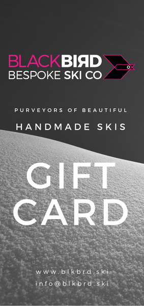 The Blackbird Bespoke Gift Card