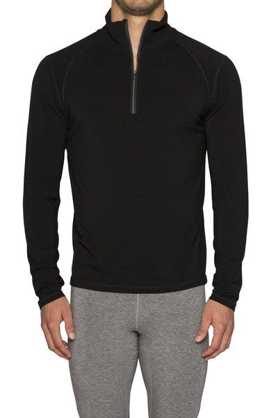 MENS LE BASE 260 MIDWEIGHT BASELAYER 1/2 ZIP