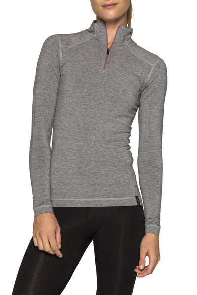 WOMENS LE BASE 260 MIDWEIGHT BASELAYER 1/2 ZIP