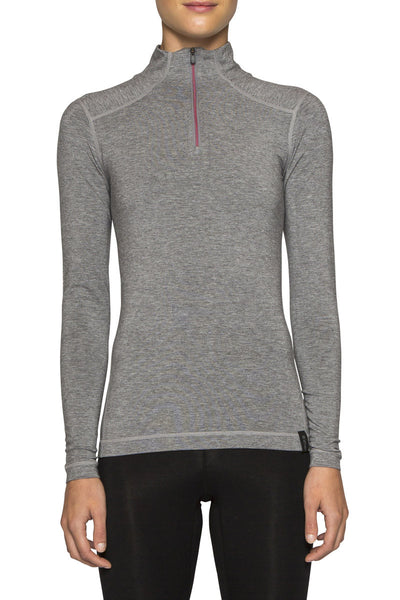 WOMENS LE BASE 260 MIDWEIGHT BASELAYER 1/2 ZIP 'SECRET STASH'