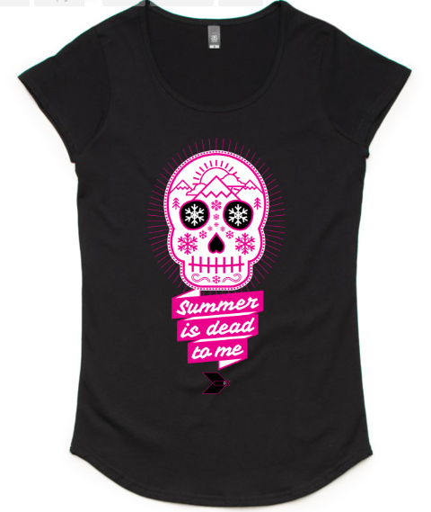 Womens BLKBRD 'Muerto' Tee - *FIRST RUN OF NEW DESIGN*
