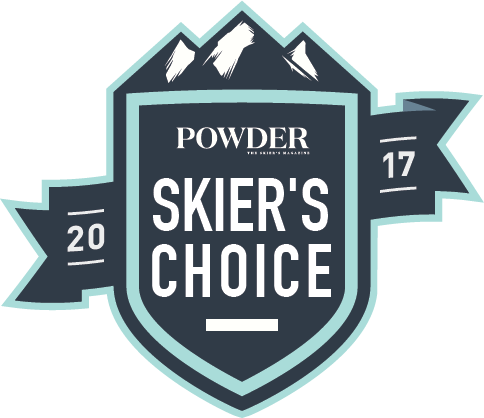 Powder Magazine Skiers Choice 2017