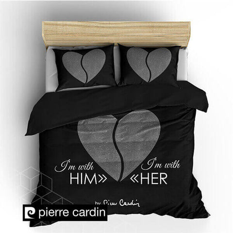 "PIERRE CARDIN ""HEART ANTRACITE"""