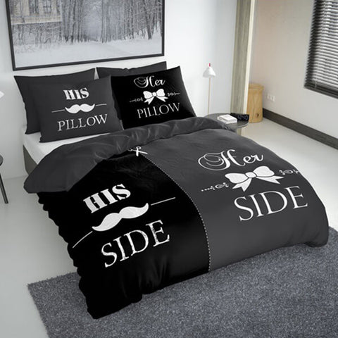 "HIS & HER SIDE ""BLACK EDITION"""