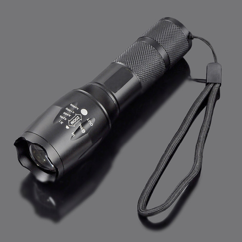 Zoomable Waterproof LED Flashlight For Outdoor Sport T6 3800 Lumen