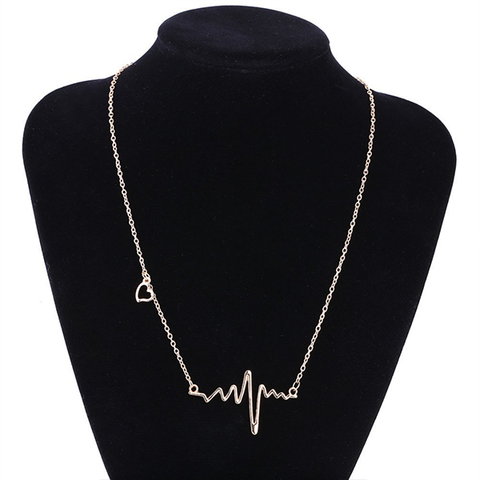 Heartbeat ECG Necklace Promo