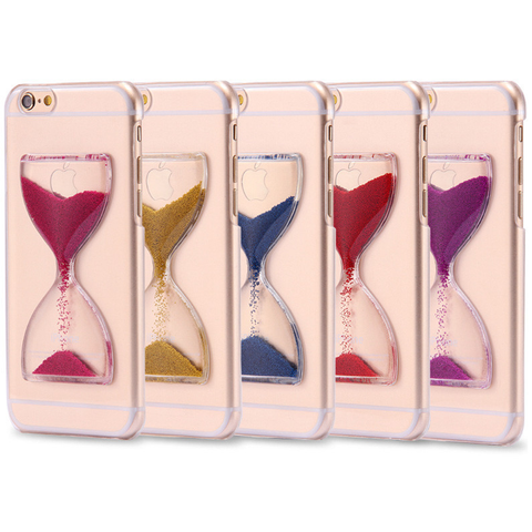 QuickSand HourGlass Back Cover Cases For Iphone
